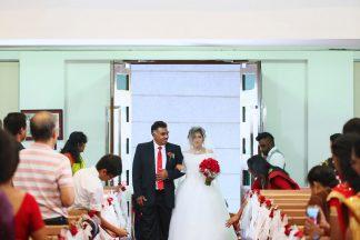 winsen-and-cynthia, church wedding, penang wedding, fresh flower
