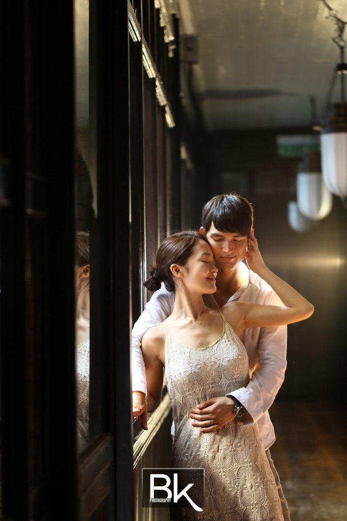 Pre Wedding in Penang, Cheong Fatt Tze, Blue Mansion, Heritage Building, Oscar and Chihiro