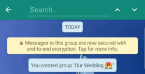whatsapp, search, group chat