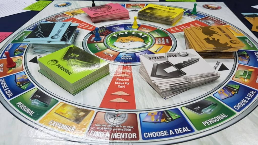 Rut To Riches board game, cashflow101, rich dad poor dad, net worth, financial knowledge, financial literacy, net worth, your net worth game